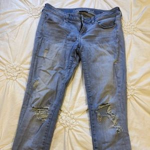 American Eagle Low-cut Jeans